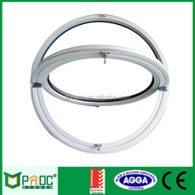 Aluminium inexpensive circle window PNOC004