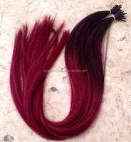Brazilian Hair Alibaba Express Prebond Keratin I Tip Hair Extension 26 Inch