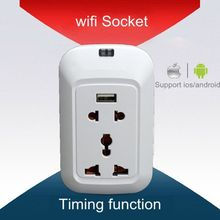 220v wifi plug Belkin WeMo Switch,Turn on/Off Electronics From Anywhere ,Remote Control,timing Function 220v wifi plug