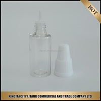 30ml small pet empty bottle for liquor ,30ml PET bottle for e-liquid from alibaba china factory