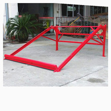 Red color coated galvanized steel solar water heater support bracket