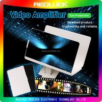 3D large glass magnifier lens folding portable cellphone enlarge mobile phone screen magnifier