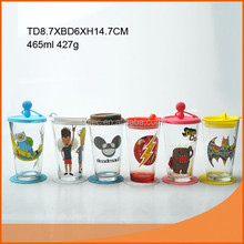 450ml silicone wine glass cup with straw and coat