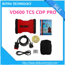 [New Arrival] 2015 Red Color Bluetooth VD600 TCS CDP Pro+ with 2014.2 Keygen&4G Memory Card could work on WinXP/ Win7/ Win 8