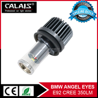 Auto E92 RGB Led Angel Eyes Colors 7000k 30000H lifespan running lamp Cr ee maker lights for tuning