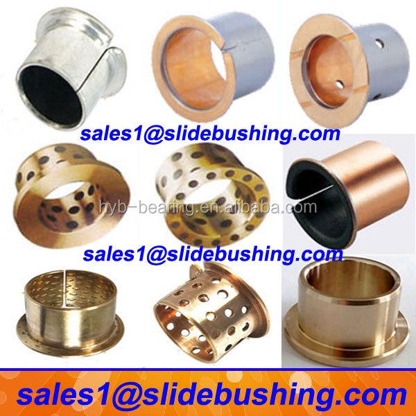 Sintered Oil Copper Bearing Split Flange Oilless Brass
