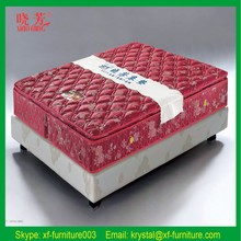Standard hotel twin bed mattress and box spring