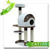 Top selling luxury cat house cat condo Sisal Scratcher,Big Cat tree,cat furniture