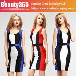 Lady's Sexy Summer Party Fashion Casual Bandage Dress 2015 SV011983
