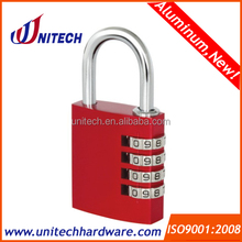 35mm 4 digital aluminum padlock