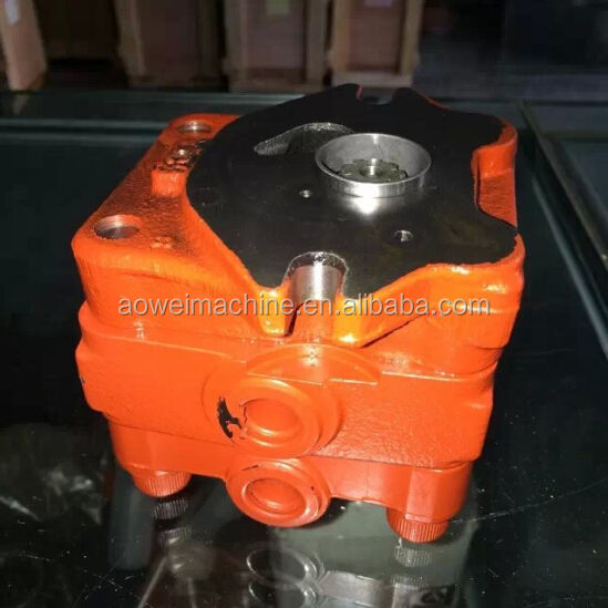New holland kobelco excavator hydraulic pump parts, gear pump,PE10V00001F1 PE10V00001F2 PVD-00B- ...