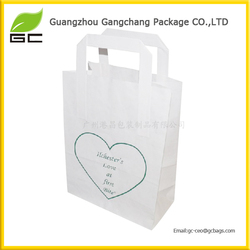 Lovely design tote cheap paper bags for shopping