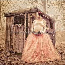 JPSKIRT1505305 2015 wholesale summer fashion hot sale new European Pregnant women princess wedding tailored dresses 2 styles