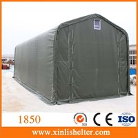 Waterproof Steel Frame Fabric Covered Boat Tent
