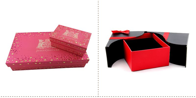 2015 cardboard champagne glass gift boxes