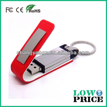 2015 Top selling cheapest leather 3.0 usb flash drive 1gb 2gb 4gb 8gb 16gb with keyring for gift