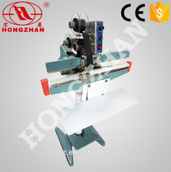 Hongzhan KS series bag sealing simple foot sealer with sealing and cutting