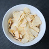 white garlic flake no root china dehydrated garlic