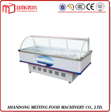 hot sale front window energy meat display cabinet/commercial supermarket refrigeration/high efficiency deep freezer