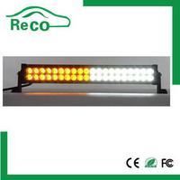 Dual row offroad led light bar, amber and white light bar 300 watt