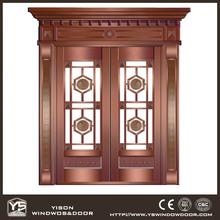 Best Manufacture Copper Door Glass Copper Door Front Copper Door
