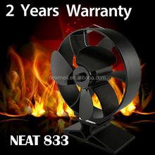 Newmeil Neat fan Hot sell heat powered wood stove fan