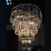 RH Vintage Industrial Crystal Decoration Pendant Light For Home,Modern Chandelier Lighting