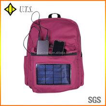 hiking hot solar back pack electric 2000mA/5000mA/6000mA