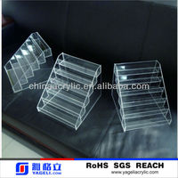 customized wholesale acrylic nail polish stand holder cosmetic display(welcome trial order)