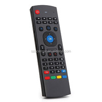 S77 Pro 2.4G Wireless Airmouse with QWERTY Keyboard Best Remote for Android TV Box