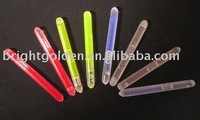 China manufacturer hot sale glow in the dark chemical whistle for party supply
