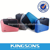 Multifunctional and All Purpose Notebook Computer Messenger Bag with In-built Tablet Pocket for 15.6 Laptops