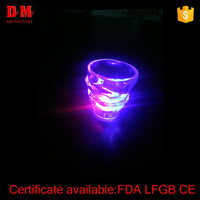 China 50ml CE cheap pub led plastic shot glass cup