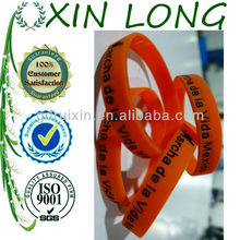 alibaba hot sale France silicone bracelets top quality
