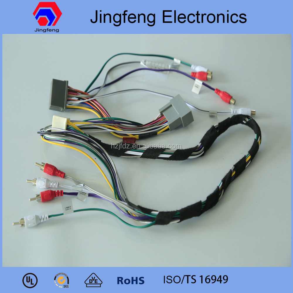 professional male female wiring harness connectors for