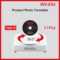 Motorized rotating platform, 360 degrees rotating turntable ideal for small products like Jewelries, watches, shoes, glasses etc