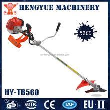 HY-TB560 1E40F engines supper nylon cutter mini manual grass trimmer