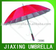 16 Ribs Unique Ladies Stick Umbrella
