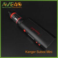kangertech SUBOX mini starter kit Kanger 50w MOD KBOX mini black