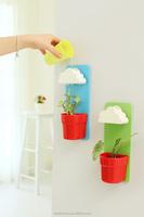 Rainy Pot Wall-hunging Cloud plastic rectangular flowerpo flower pot garden flower pot