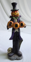 11.7 inch pumpkin skeleton halloween crafts