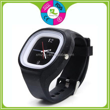 Hot selling cute silicone jelly watch black kids watch