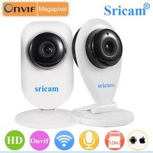 Sricam SP009A CMOS P2P two-way audio IR-CUT ONVIF Ant wireless video camera mini full hd wireless video camera