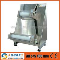 Pizza dough roller machine Pizza: Max. 400 mm electric pizza dough roller machine (SY-PS400 SUNRRY)
