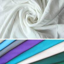 95 viscose 5 spandex viscose fiber fabric price/cotton silk knitted fbric