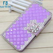 2015 Fashion artificial Jewelry Diamond Bling Phone Case for iphone 6