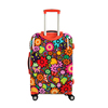 Beauty suitcase 3 pcs cheap trolley luggage with retractable wheels,Fashion trolley shopping bags