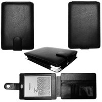 Guaranteed 100% Genuine Leather for kindle touch case with card slots +FREE customer LOGO + Return Supported