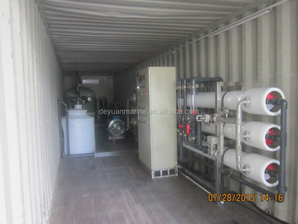 Mini Desalination Plant : Reverse osmosis mini seawater desalting plant ro water