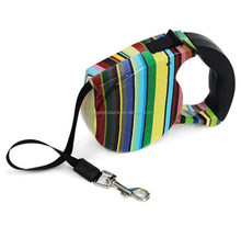 Wholesale Raibow Extending Dog Leash Retractable Extendable Pet Lead With Factory Price